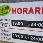 Horario-Baxina